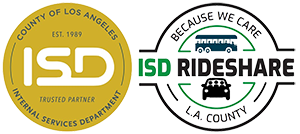 Rideshare LA County Logo